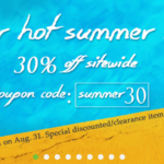 【セール】CVAPOR HOT SUMMER SALE! 30%OFFクーポン!8月31日まで